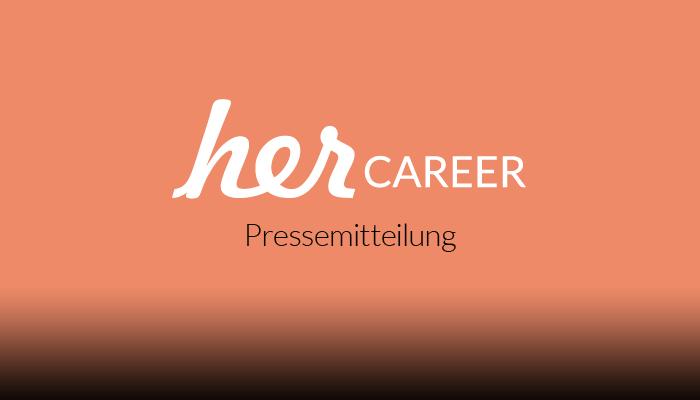 herCAREER_Pressemitteilung
