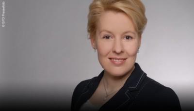 Bundesfamilienministerin Dr. Franziska Giffey