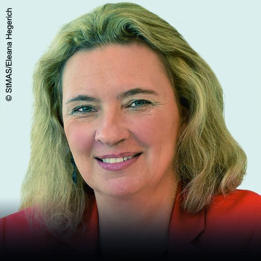 Kerstin Schreyer - Staatsministerin für Familie, Arbeit und Soziales in Bayern - Schirmherrin - herCAREER