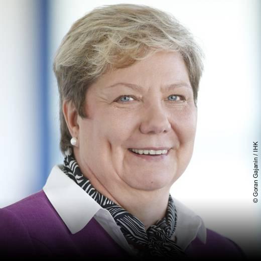 Ingrid Obermeier-Osl - Vizepräsidentin IHK München und Oberbayern - Schirmherrin der herCAREER