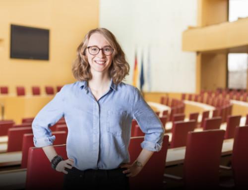 """Eva Lettenbauer, MdL: """"Über politisches Engagement von Frauen und meine Erfahrungen als junge Politikerin."""""""
