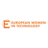 European Women in Technology Logo 160x160px