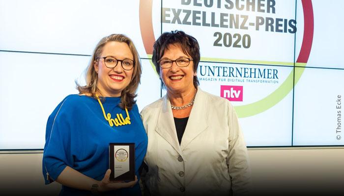 herCAREER Deutscher Exzellenz-Preis 2020