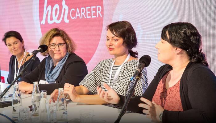 herCAREER Podcast - Radikaler denken, entschlossener handeln: Wie Frauen Gleichberechtigung in Unternehmen treiben können