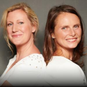 Daniela Meyer und Astrid Zehbe, Initiatorinnen und Chefredakteurinnen von Courage - herCAREER