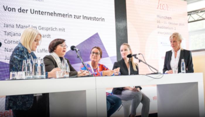 """Podcast - Diskussionsrunde zum Thema """"Von der Unternehmerin zur Investorin"""""""