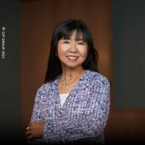 Yao Wen Vorstandsvorsitzende & Mitgründerin, CIP HOLDING AG